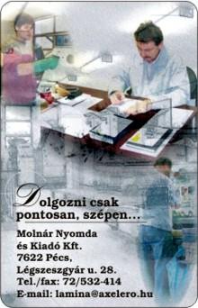 Molnár Nyomda - Molnár Csaba