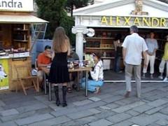 Para Pécsett, Alexandra sátor
