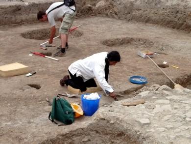 Indián régész - római sír