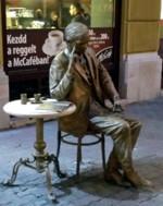 Weöres Sándor szobor, Pécs