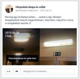 Kórházi világítás