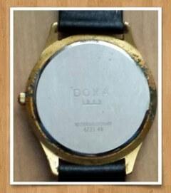 Mindennapok: rozsdás Doxa óra