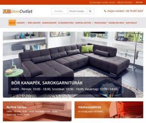ABútor Outlet Bútoráruház - kanapé boltok példája