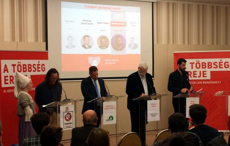 Pécsi képviselő jelöltek, köztük Mellár Tamás